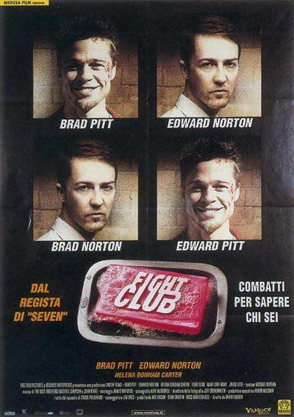 La locandina italiana di Fight Club - 1999