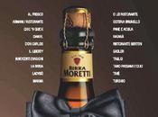 Birra Moretti veste abito sera piacere della birra tavola