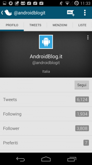Screenshot 2014 01 24 11 33 19 300x533 Tweedle: il client Twitter più leggero per Android applicazioni  play store google play store