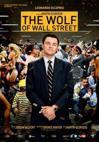 Locandina italiana The Wolf of Wall Street