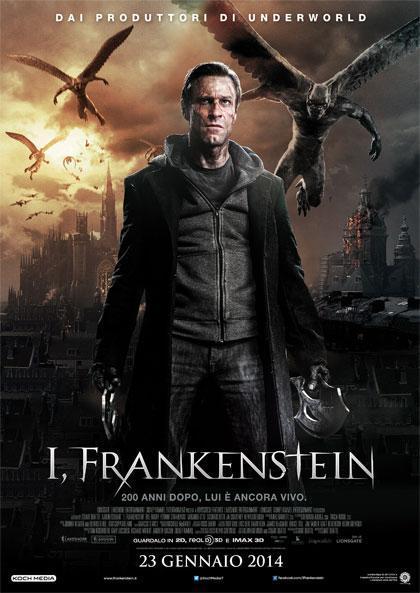 Locandina italiana I, Frankenstein
