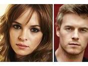 "Flash"": cast Danielle Panabaker Rick Cosnett"