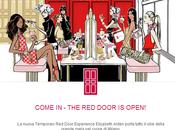 Come Door open! Elizabeth Arden porta glam Milano