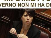 Nunzia Girolamo dimette Ministro