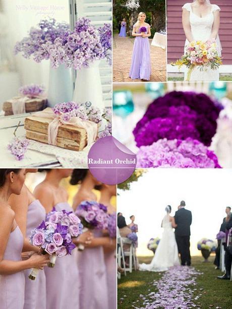 Matrimonio Tema Barocco : Matrimonio a tema colorato il radiant orchid per