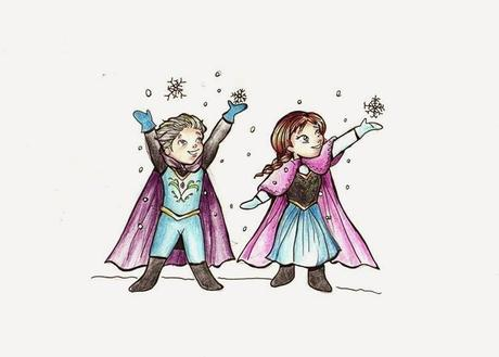 Frozen details paperblog for Disegnare elsa frozen