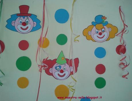 Carnevale addobbi per l 39 aula paperblog for Addobbi natalizi per bambini scuola materna