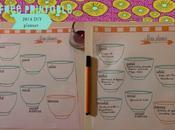 Menu planner free printable