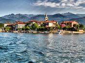 affresco Lago Maggiore: isole Borromeo.