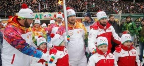Kadyrov And Olympic Torch