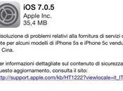 Apple rilascia 7.0.5