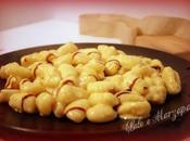 Gnocchi patate fonduta parmigiano glassa aceto balsamico