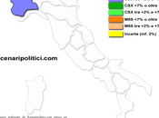 Sondaggio SCENARIPOLITICI gennaio 2014): PIEMONTE, 33,8% (+3,0%), 30,8%, 26,5% frenata CSX, divario allarga. Cresce Movimento Stelle.