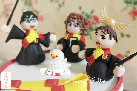 torta, cupcake e biscotti  Harry Potter