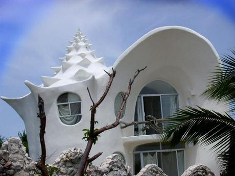 Conch Shell House, Isla Mujeres, Mexico,