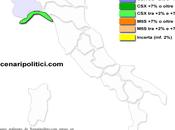Sondaggio SCENARIPOLITICI gennaio 2014): LIGURIA, 33,2% (+3,2%), 30,0%, 30,0 calo insidiato CDX. Movimento Stelle supera
