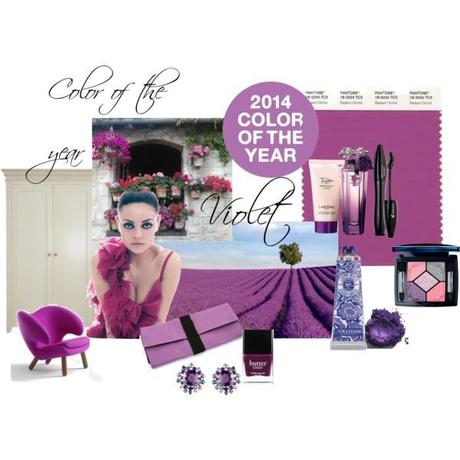 Violet, color of the Year