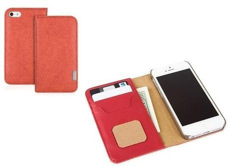 Custodia in pelle Moshi per iPhone 5/5S