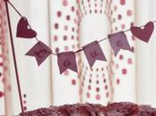 Love: Banner Cake Topper Envelope Free Printable