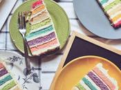 Happy Bday WishList Rainbow Cake