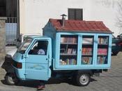 bibliomotocarro. Libri ruote.