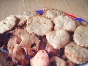 Biscotti frolla nocciole mandorle vegan