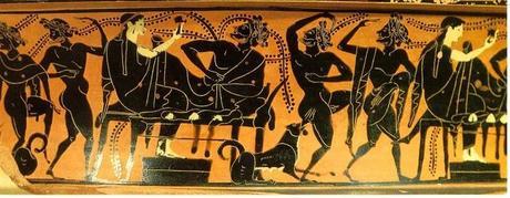 I greci e il simposio paperblog for Vasi antichi romani