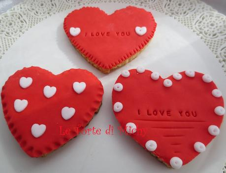 Biscotti a cuore di san valentino paperblog - Decorazioni di san valentino ...