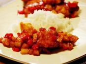 Pollo salsa agrodolce