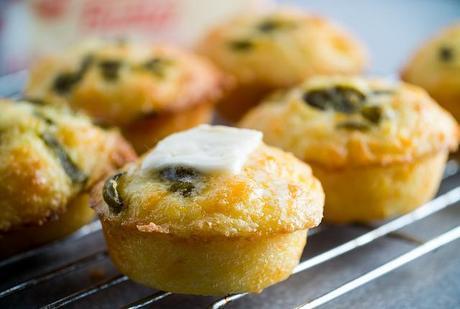 Merende sfiziose: la ricetta dei muffin salati.