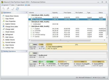 main partition magic Macrorit Disk Partition Expert Professional 3.4.4 Gratis: Crea, Ridimensione ed Elimina le partizioni sul tuo Hard Disk facilmente [Windows App]