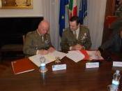Protocollo d'intesa azienda Regione Umbria Centro Selezione Reclutamento Nazionale dell'Esercito