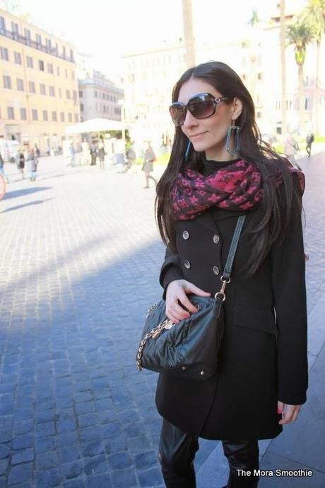 Outfit in rome with my new diy earrings paperblog - Diy fa r oma ...