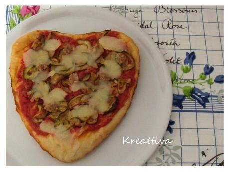 Un cuore di pizza per San Valentino