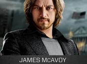 James McAvoy Charles Xavier giovane nella nuova artwork promozionale X-Men: Giorni Futuro Passato