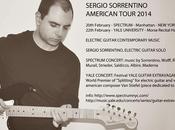 """Sergio Sorrentino American Tour 2014 Chitarra Elettrica nella Musica Contemporanea"""""""