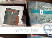 recupero vecchi jeans... pochette come esercizio zen!