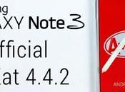 Aggiornamento Galaxy Note Android 4.4.2 KitKat N9005XXUENB3