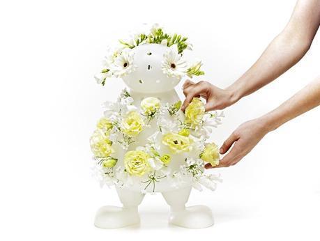 Vaso per fiori a forma di pupazzo - Bloom My Buddy
