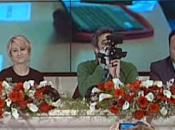 """Sanremo: Leone: """"Prima volta festival attivo. Fazio: """"Domani sarà anche Ligabue omaggio Andrè"""" (Ansa)"""