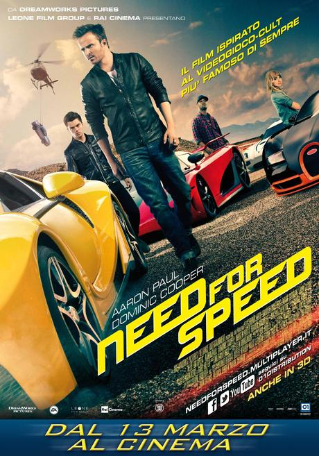 need for speed poster ita