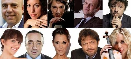 Sanremo 2014, su il sipario! - Fabio Fazio e Luciana Littizzetto presentano il 64° Festival della Canzone Italiana in diretta dalle 20.30 su Rai 1 e Rai HD