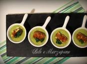 Vellutata zucchine pate' finocchietto selvatico crocchette grokkanti