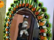 Tutorial: come creare cornice specchio bottiglie plastica