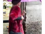Elena Santarelli alla settimana della moda Milano (foto)