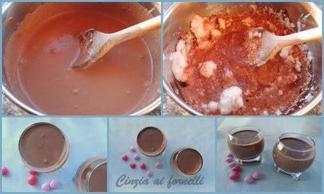 collage mousse cioccolato
