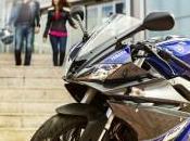 Yamaha YZF-R125 rifà trucco ispira alla YZF-R6