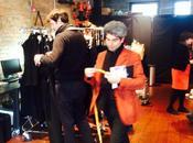 """NEWS. Backstage MODA York Fashion Week qualche prima della sfilata oggi """"VISIT COLLECT"""""""