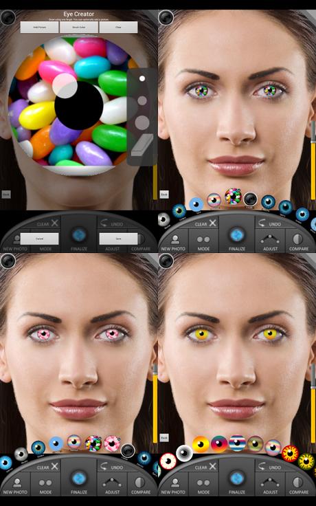 Cambiare il colore degli occhi con eye color studio per - Colore degli occhi diversi ...