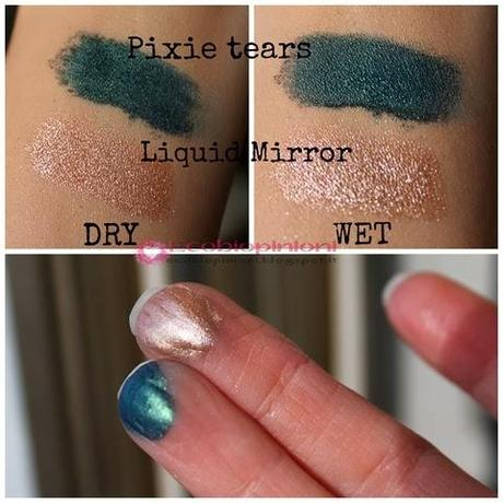 Pixie tears e liquid mirror